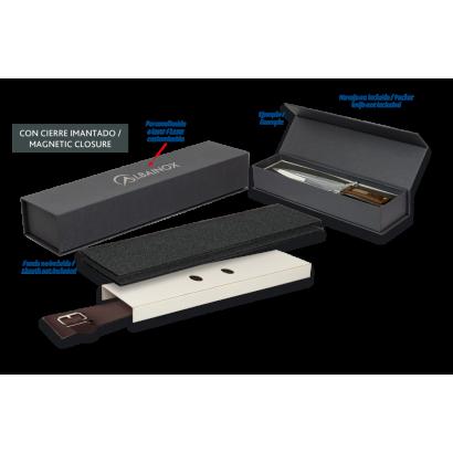 Caja negra  imantada (interior: 30x9x7cm