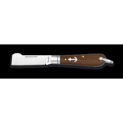 Navaja Marinera ALBAINOX. Madera.H:6.5cm