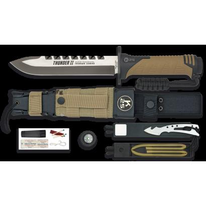 K25.Cuchillo THUNDER II. Camo Sand.