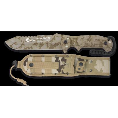 cuchillo K25 camo arido. SIROCO. H:14