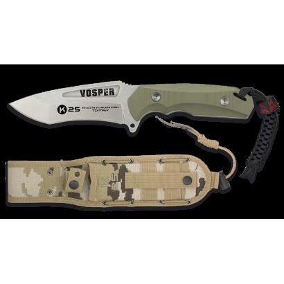 Cuchillo K25.coyote. hoja 12.3cm. VOSPER