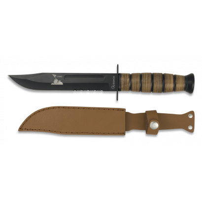 Cuchillo Albainox USMC. Hoja: 18 cm