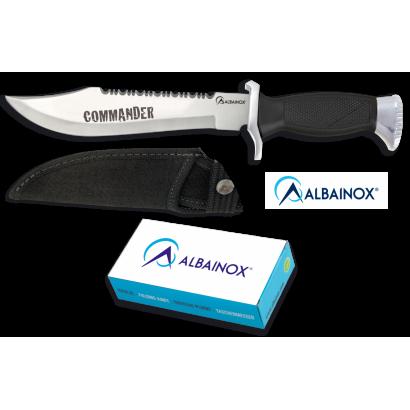 Cuchillo ALBAINOX COMMANDER C/Funda.