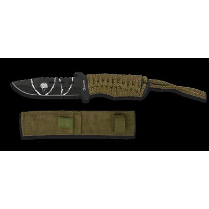 Cuchillo Albainox encordado coyote. T:18