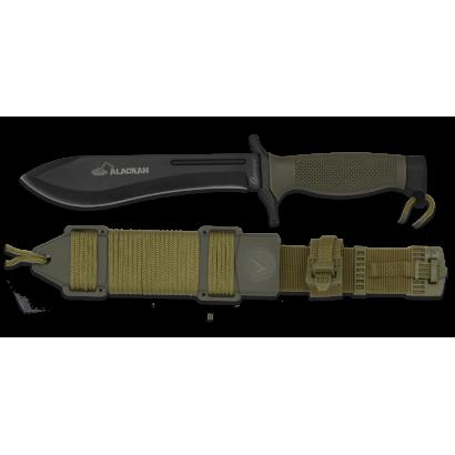Cuchillo Albainox Alacran negro. H: 18
