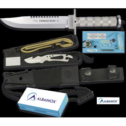 Cuchillo ALBAINOX SUPERVIVENCIA.C/F.20.5