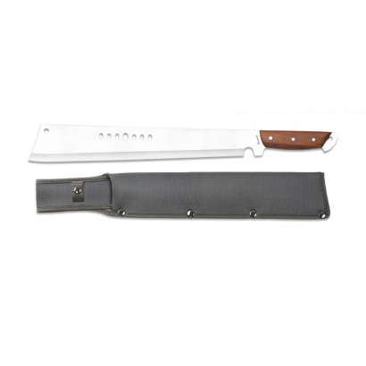 machete Albainox. Puño madera.