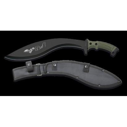 Machete Albainox Bat-3 hoja negra: 34 cm