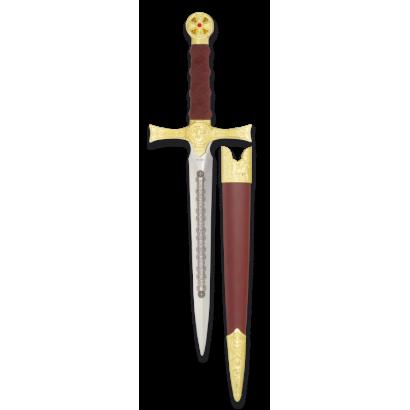 daga Tole10 color: oro. hoja:18 cm