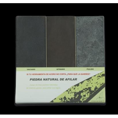 Set VACIAR-700g/AFINAR-1200g/PULIR-4000g