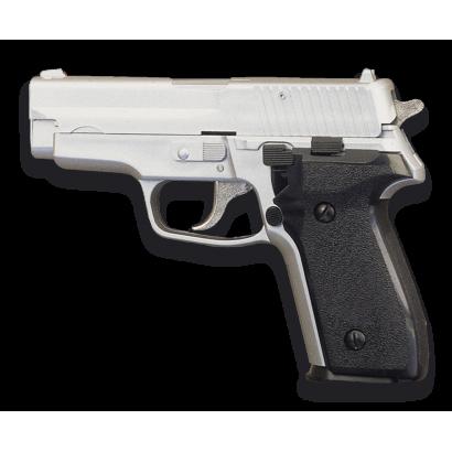 Pistola AIRSOFT.Pesada. Blanca. HFC