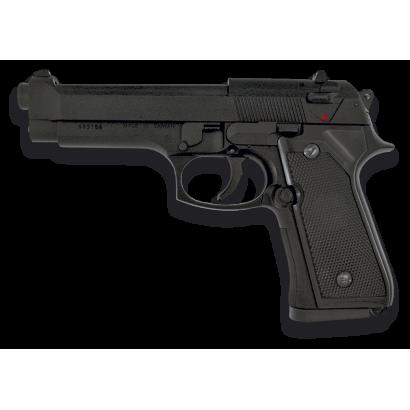 Pistola AIRSOFT. Pesada. Negra. HFC