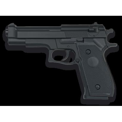 Pistola AIRSOFT. Ligera. Negra. HFC