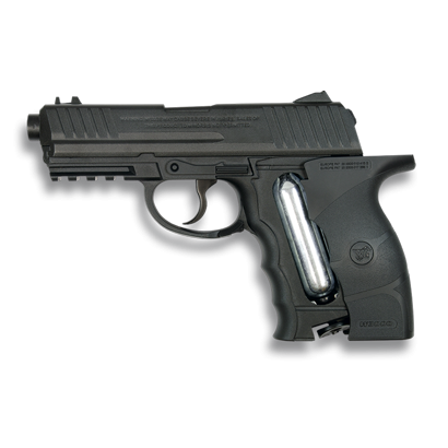 Pistola Co2. Cal. 4.5 mm.