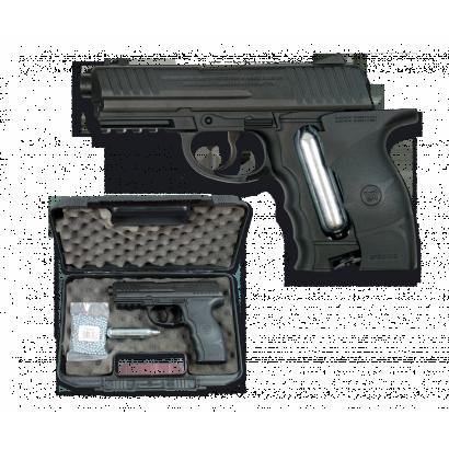 "Pistola Co2.4.5 mm ""Maletin+Co2+bolas)"