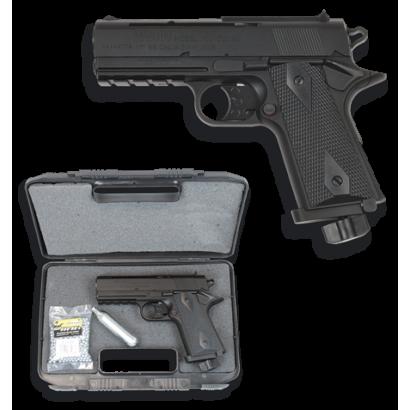 "Pistola CO2.4.5 mm ""Maletin+Co2+bolas"