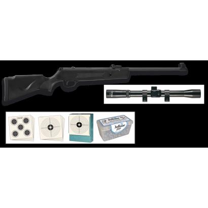 Kit carabina aire compr. JUNIOR Cal 4.5