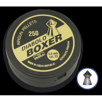 Balines DIABOLO BOXER Cal. 5.5 (250)