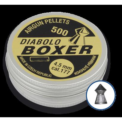 Balines DIABOLO BOXER 500 (cal. 4.5)