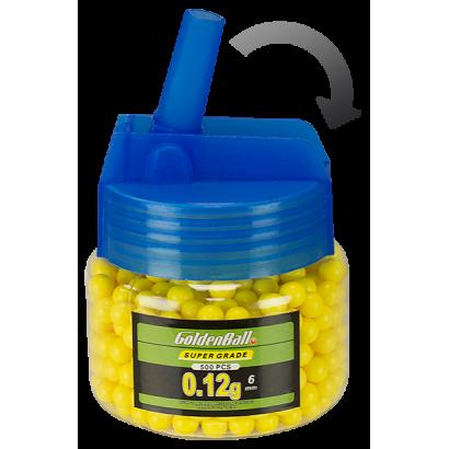 Biberon 500 bolas 0.12g. Cal. 6 mm