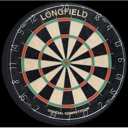 Diana oficial LONGFIELD (O 45 cm x 40 mm