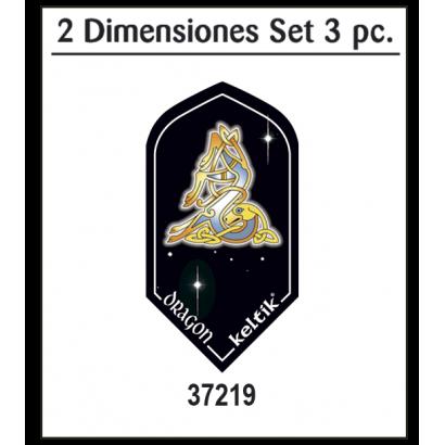 Voladores KELTIK DRAGON set 3 piezas