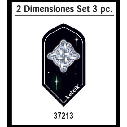 Voladores BLAU . Set 3 piezas