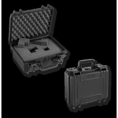Maletin fibra ESTANCA. 300X225X132 mm