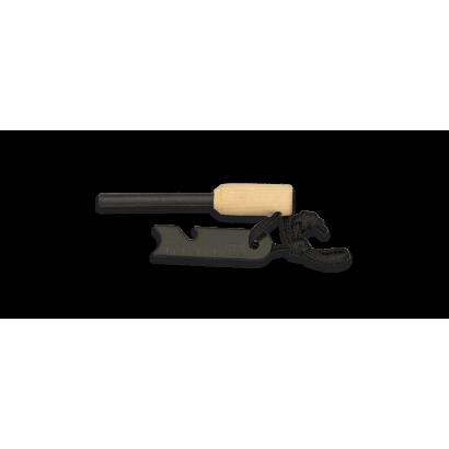 Pedernal con accesorios
