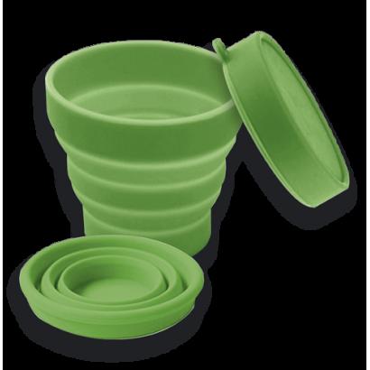 Vaso telescópico Verde  8 cm