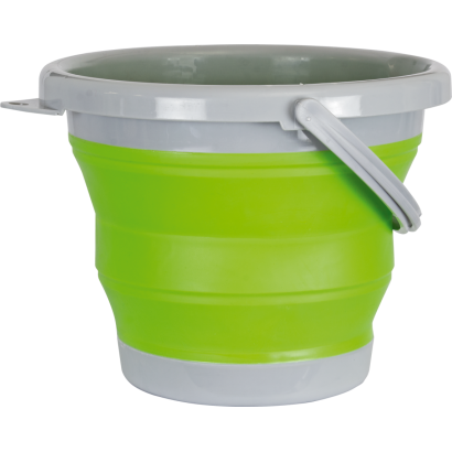 Cubo plegable BARBARIC verde