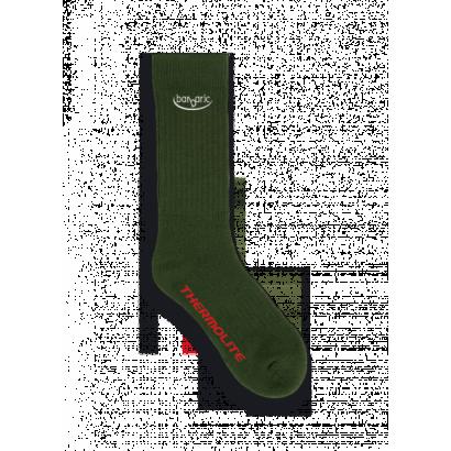 calcetin Barbaric grueso verde