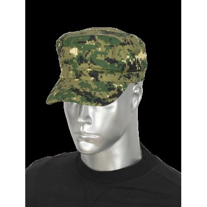 Gorra camo pixel verde BARBARIC