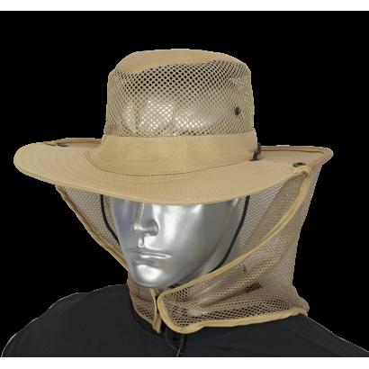 Sombrero con rejilla coyote BARBARIC