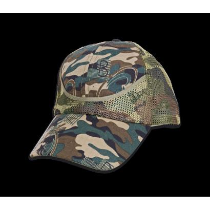 gorra camo verde ajustable Barbaric