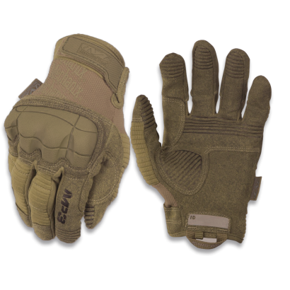 "Guantes MECHANIX "" M-PACT3"". Coyote. S"
