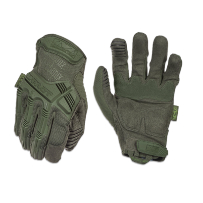 Guante Mechanix M-Pact Verde Talla: XL