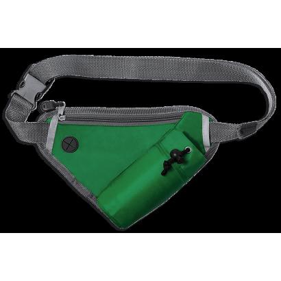 Riñonera triangular verde Barbaric