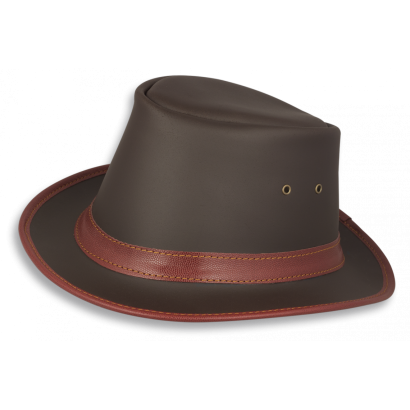 Sombrero PIEL. Talla L