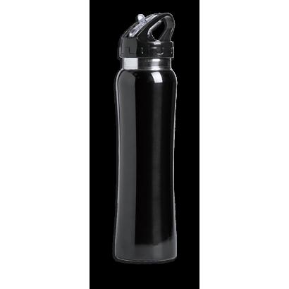 Bidon negro 800 ml facil apertura Barbar