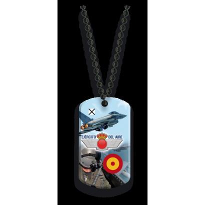 Placa con cadena de bolas  Ejército del