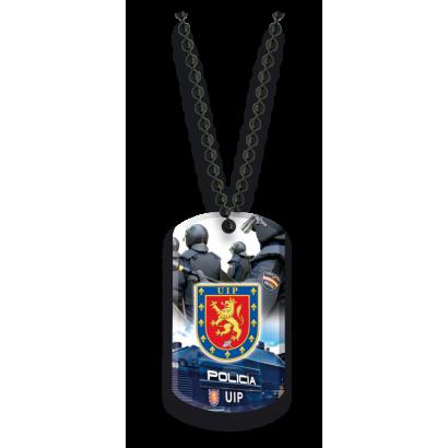 Placa con cadena de bolas UIP