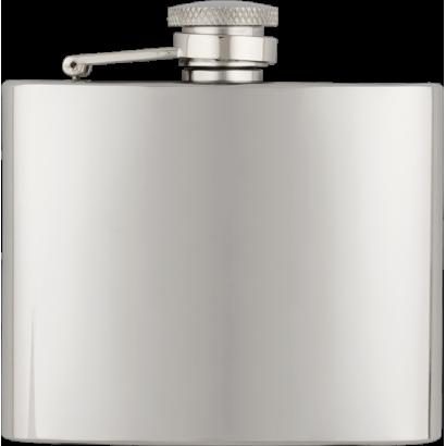 Petaca inox. Capacidad: 4 OZ  ALBAINOX