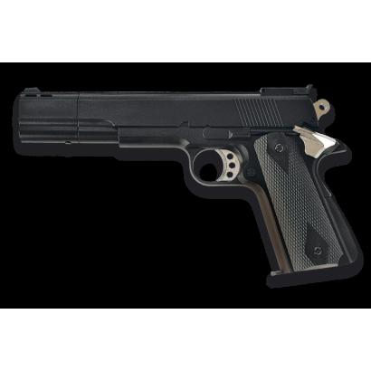 Pistola.GAS. Negra. 6 mm.HFC