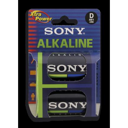 SUPERPILA ALCALINA LR-20 (pack 2 pilas)