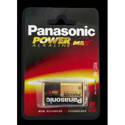 PANASONIC 9 V. 6LR61 - 1 PZ -
