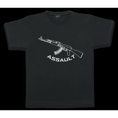 Camiseta M/Corta. ASSAULT. Talla XL