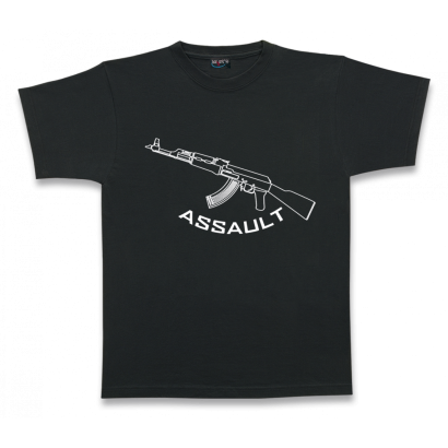 Camiseta M/Corta. ASSAULT. Talla XXL