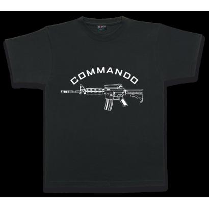 Camiseta M/Corta. COMMANDO. Talla S