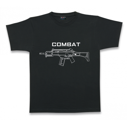 Camiseta M/Corta. COMBAT. Talla XL